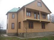 Блок хаус для внутрішніх та зовнішніх робіт